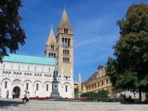The Cathedral in Pec, Hungary